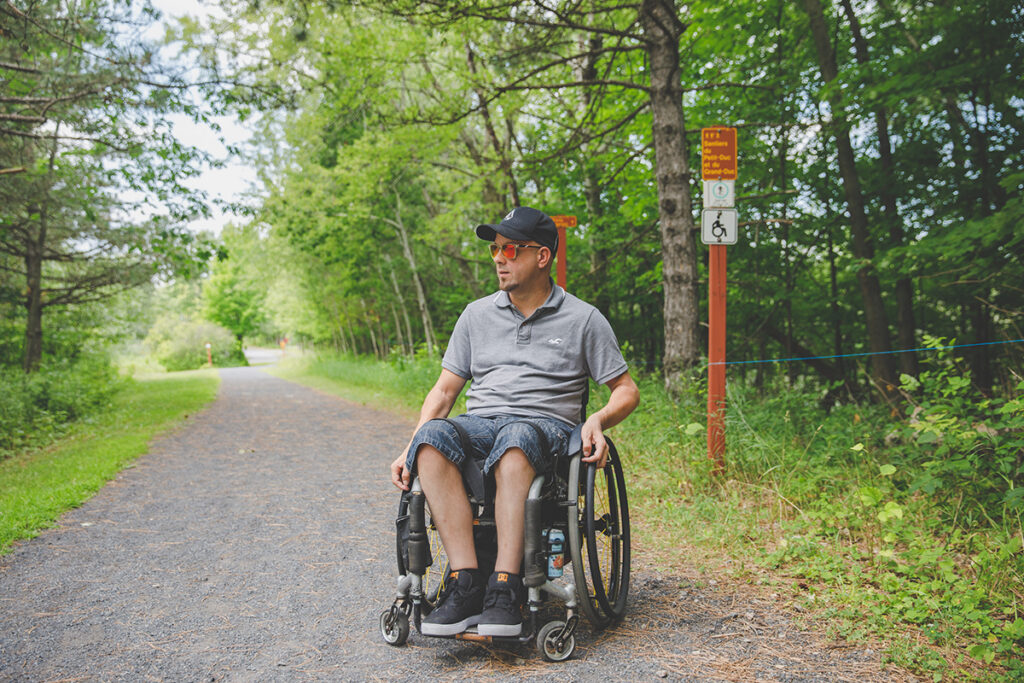 A summer in the great outdoors with Québec's accessible and partially accessible trails